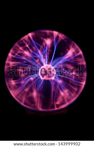 Plasma Ball - stock photo