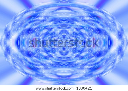 plasma burst abstract background effect with ripples - stock photo