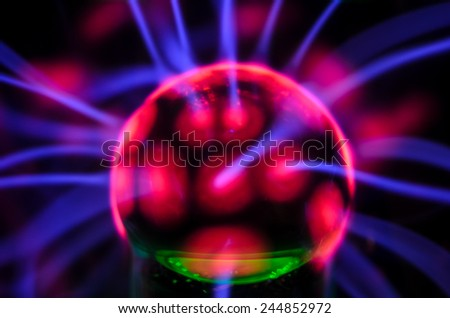 Plasma Static Electricity - stock photo