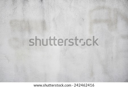 Plaster and cement urban wall construction - stock photo
