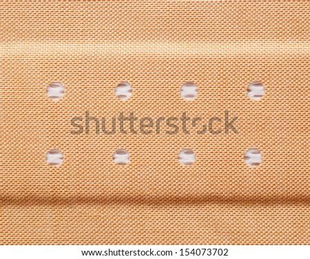 Plaster Closeup - stock photo