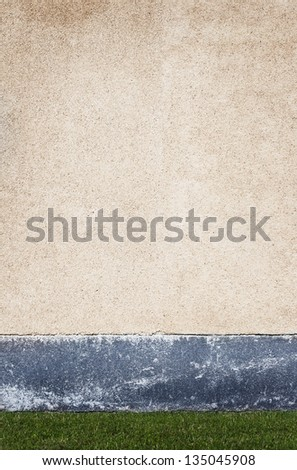 Plaster grunge wall background