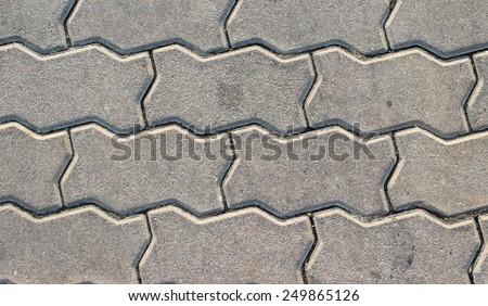 Plaster on brick. - stock photo