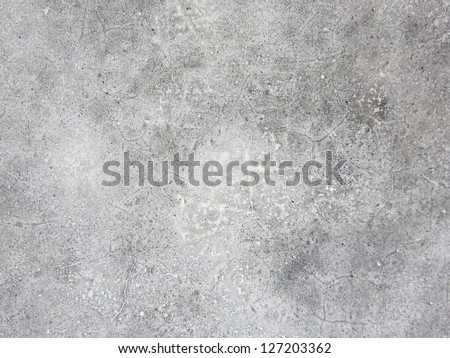 Plaster walls, new concrete - stock photo