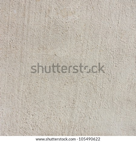 plastered wall texture, gray background - stock photo