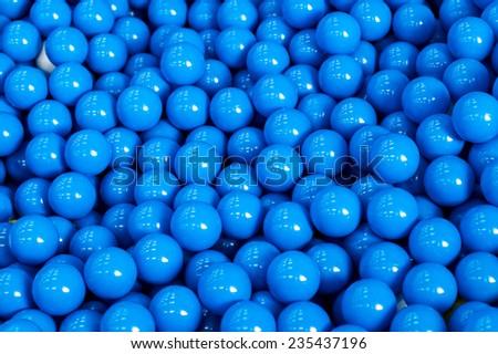 plastic balls - stock photo