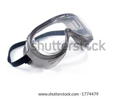 Plastic goggles - glasses - stock photo