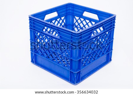 plastic milk crate storage cubes stock photo crates home depot target white