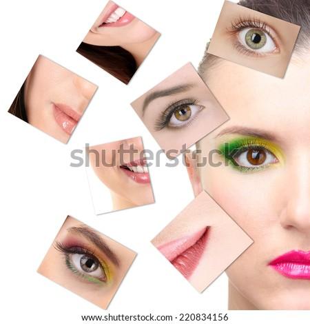 Plastic surgery concept - stock photo