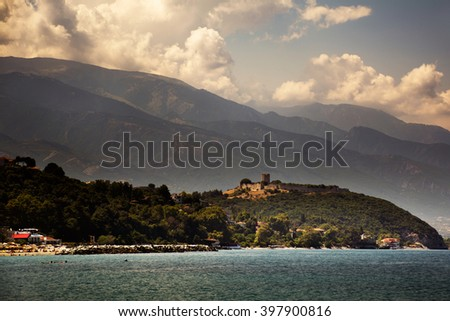 Platamonas Fortress, Greece