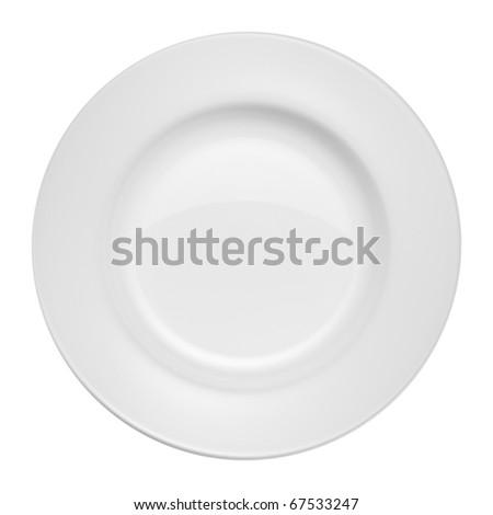 Plate - stock photo