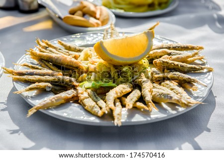 spicy anchovy mix deep fried anchovies fresh anchovies you could put ...
