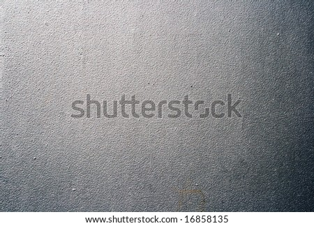 Plate of  metal on a background