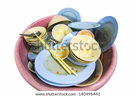 Plates that have not cleared