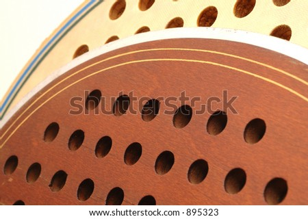 platform tennis paddles old and  older micro - stock photo