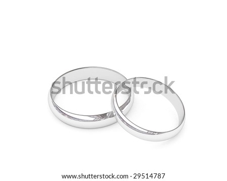 d platinum on high silver illustration photo resolution stock background white rings or image wedding