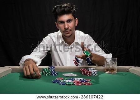 Kia poker player