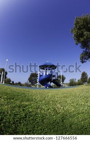 Playground equipment - stock photo