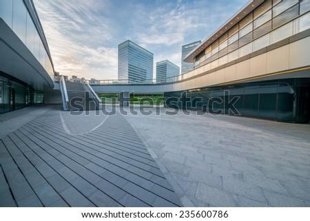 plaza in beijing - stock photo