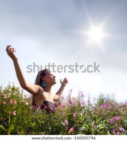 Pleasure of life. - stock photo