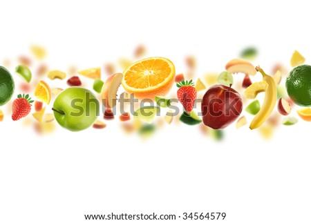 Plenty of fruit - stock photo