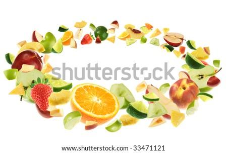 Plenty of fruits - stock photo