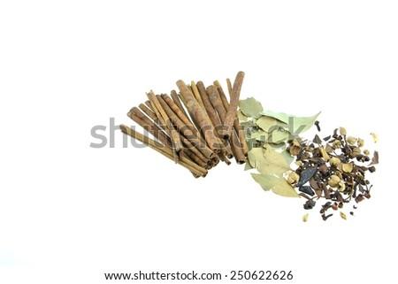 Plenty of herbs - stock photo