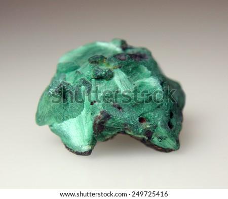 Plisovy malachite  - stock photo