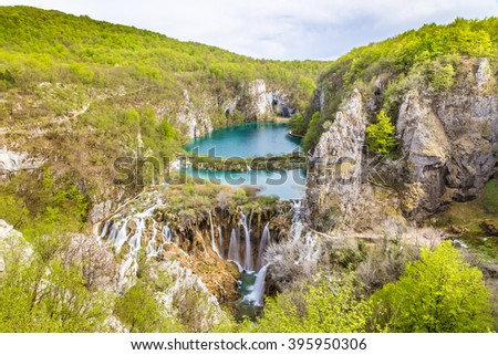 Plitvice Lakes And Waterfalls - Plitvice Lakes National Park, Croatia, Europe