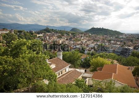 Plovdiv, Bulgaria - stock photo