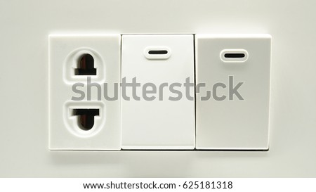 Plug Switch Socket Outlet Household Electrical Stock Photo (Royalty ...