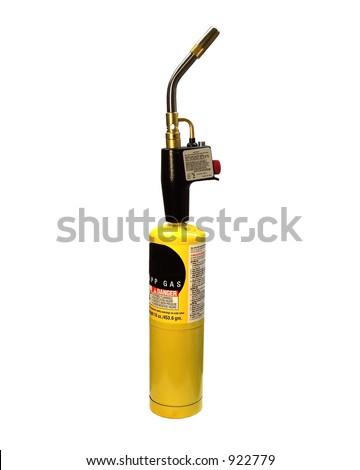 Plumbing Torch - stock photo
