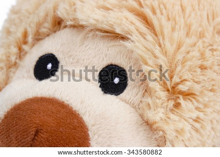 Plush teddy bear - stock photo