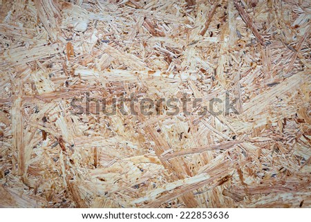 Plywood particle board for texture and background - stock photo