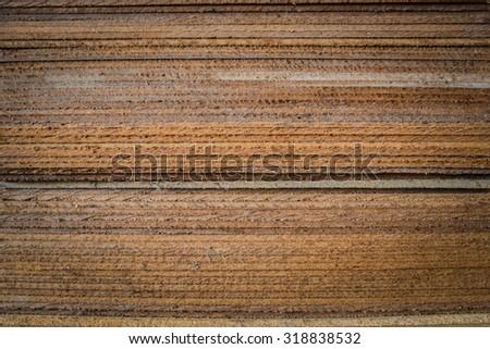 Plywood pattern - stock photo