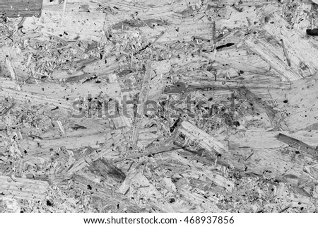 Plywood texture and background, black and white