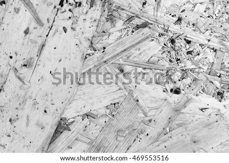 Plywood texture and background White and black
