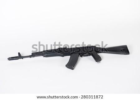 Pneumatic rifle  - stock photo