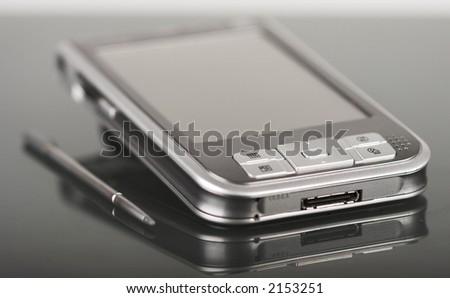 Pocket pc - stock photo