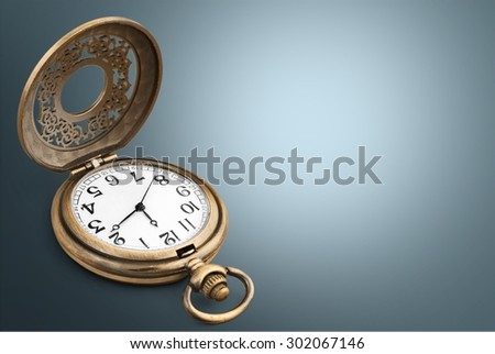Pocket Watch, Watch, Old.