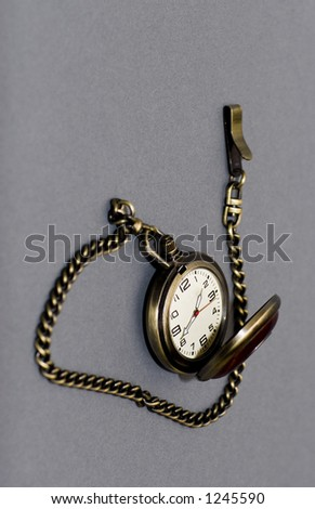 pocketwatch with chain