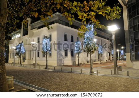 Podgorica downtown  - stock photo