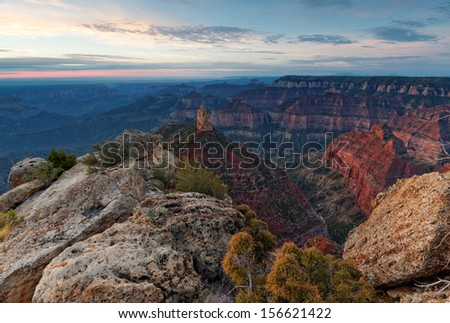 Point Imperial Sunrise II - stock photo