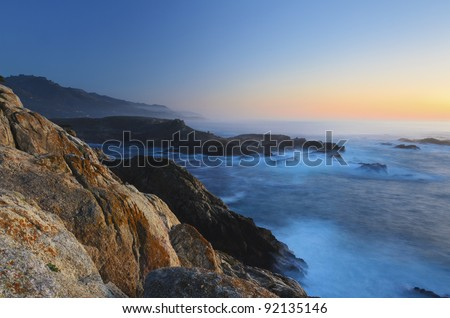 Point Lobos State Park, Monterey, California - stock photo