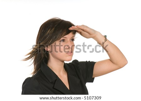 point of view - stock photo