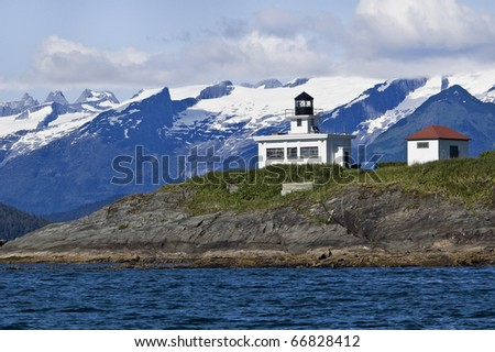 Point Retreat Lighthouse near Juneau, Alaska