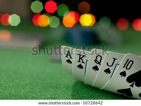 poker concept - stock photo