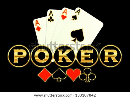 Poker game background