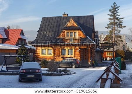 Scene gullholmen sweden stock photo 59854783 shutterstock - Traditional polish houses wood mastership ...