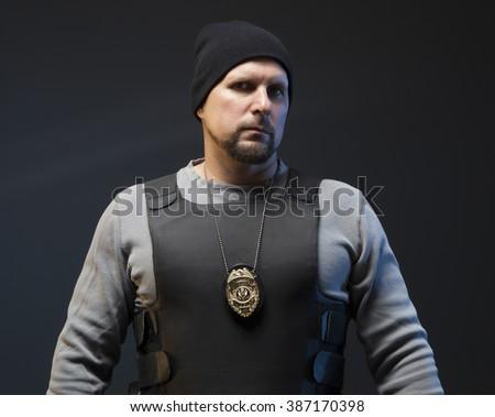 Police Officer Undercover Stock Photo 387170398 - Shutterstock  Police Officer ...